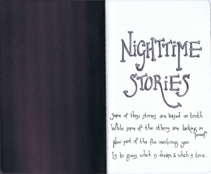 Title Page for Nighttime Stories