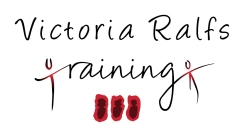 Logo for Victoria Ralfs Training. Using figure images and the extra chromosome 21, by Laura Elliott at Drawesome Illustration, Bristol. Illustration, Design, Whimsy