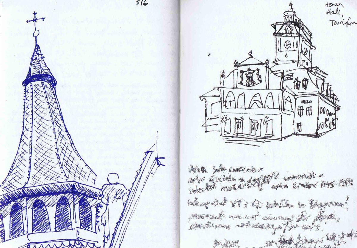 Brasov black church and tourist information centre