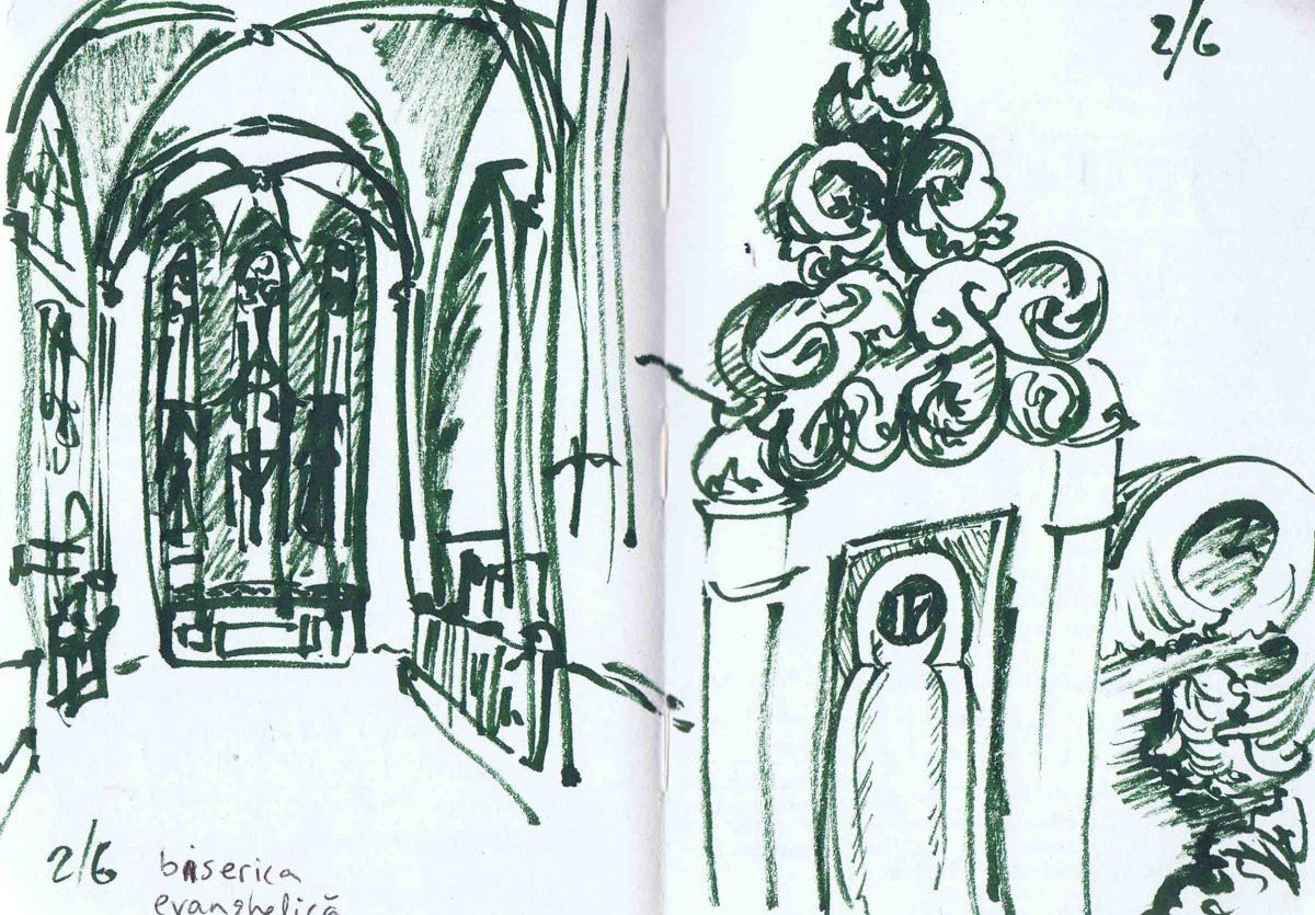 Sibiu - Evangelical church