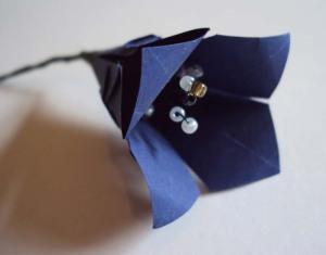 primula origami flower