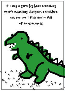 valentines rawr dinosaur love