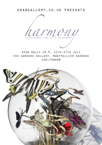 harmony exhibition held at gardens gallery by gradgallery artists